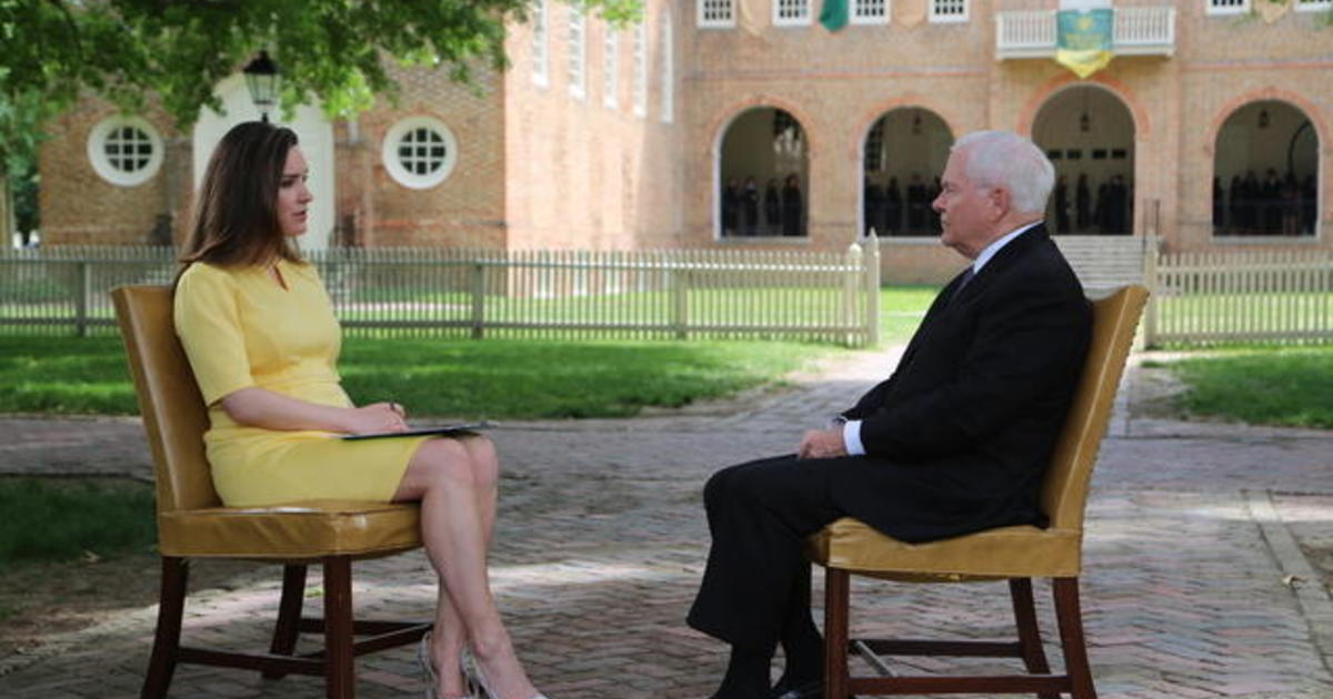 """Full interview: Robert Gates on """"Face the Nation"""""""