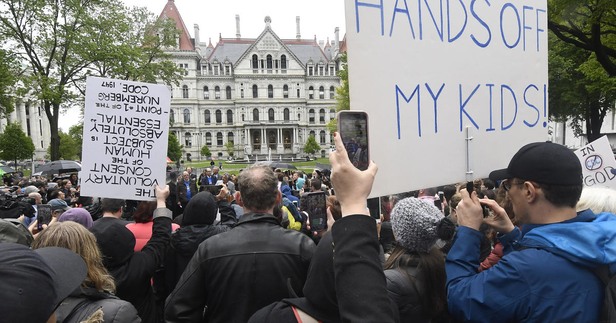 Protesters Rally As New York Lawmakers Consider Ending