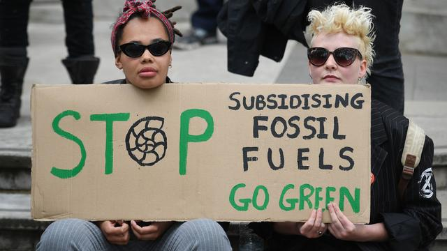BRITAIN-POLITICS-ENVIRONMENT-CLIMATE-DEMONSTRATION