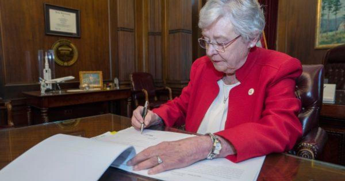 Alabama governor signs near-total abortion ban