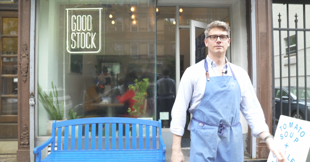 Good Stock founder Ben LeBlanc wants you to love soup again
