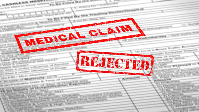 health insurance claim denied