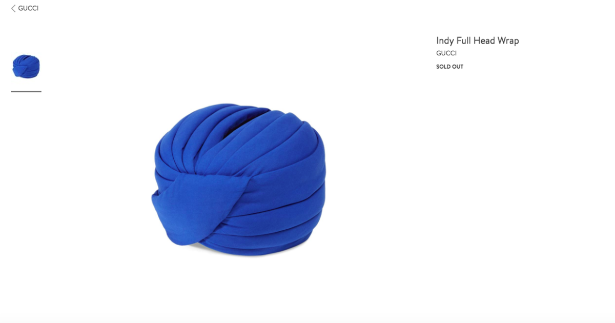 dc03ed3e57d8a Gucci turban sparks outrage in Sikh community - CBS News
