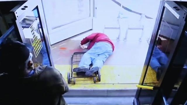 Image result for Elderly man dies after 25-year-old female passenger pushes him off bus