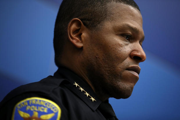 San Francisco Police Department Chief William Scott Holds News Conference With Homeland Security Officials