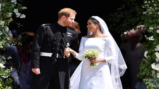 PrinceHarryMarriesMs.MeghanMarkle-Windsor Castle