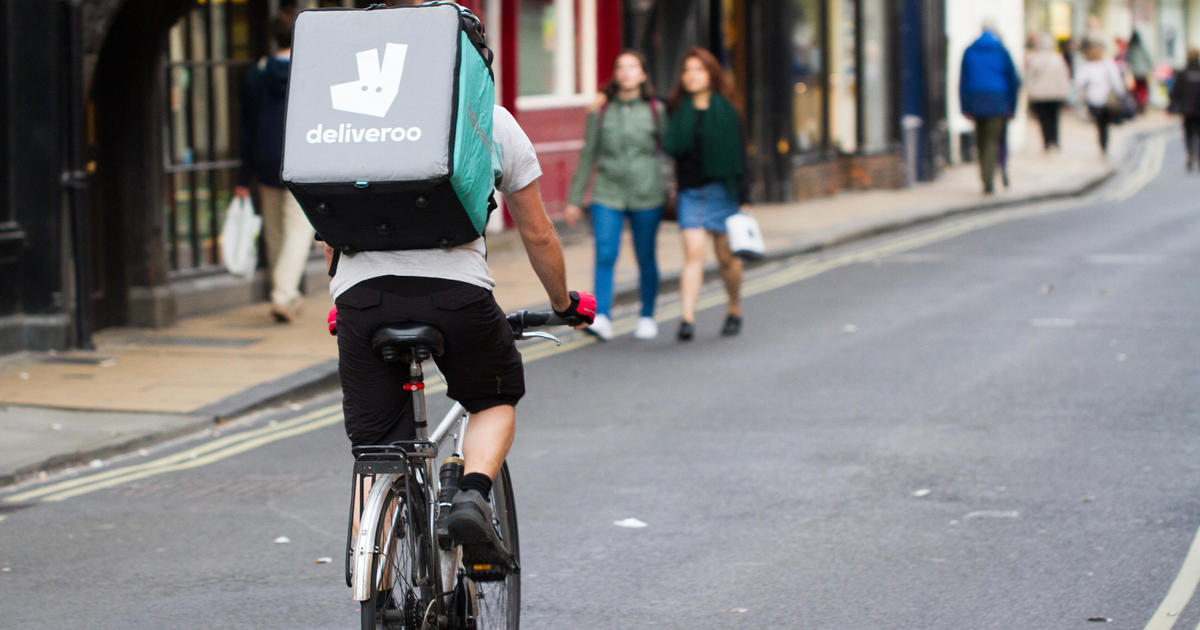Amazon invests in UK food delivery company Deliveroo
