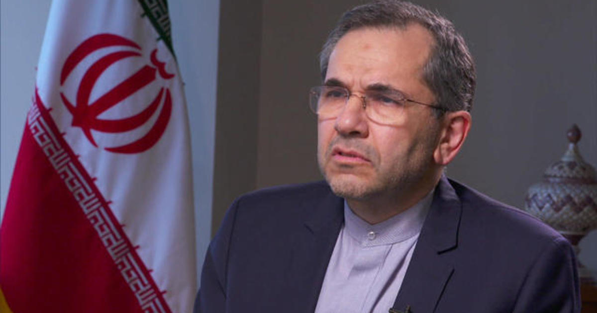 War with Iran: Majid Takht-Ravanchi, Iranian ambassador to UN, accuses U.S. of using flawed intelligence - CBS News