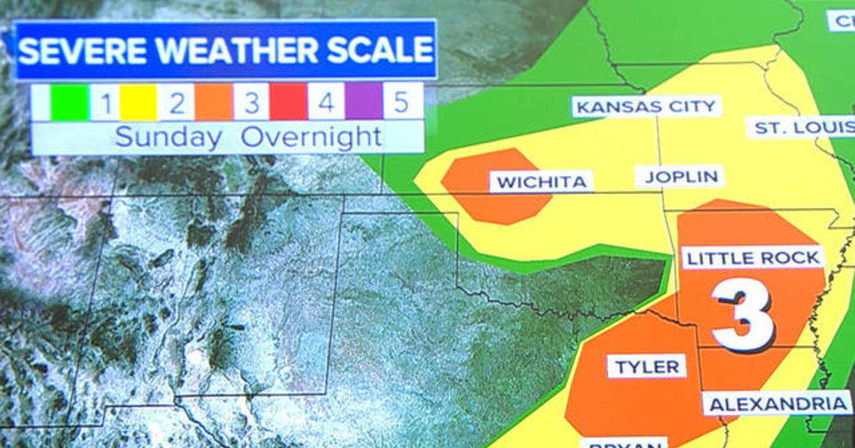 28 million people to be affected by severe weather in central U S