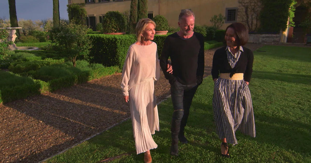 Sting, Trudie Styler, and a villa in Italy: How they brought the dilapidated, 400-year-old Il Palagio back to life
