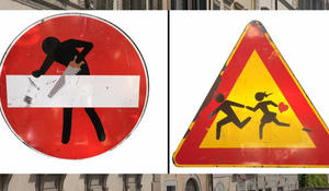 Street signs as art