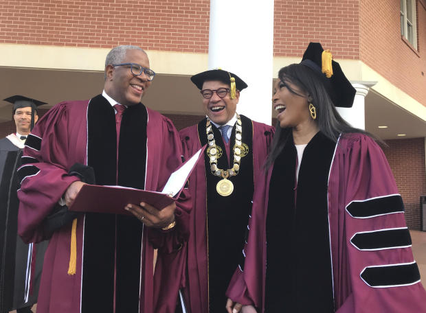 Morehouse's commencement speaker shocks graduates by announcing he's paying off their loans