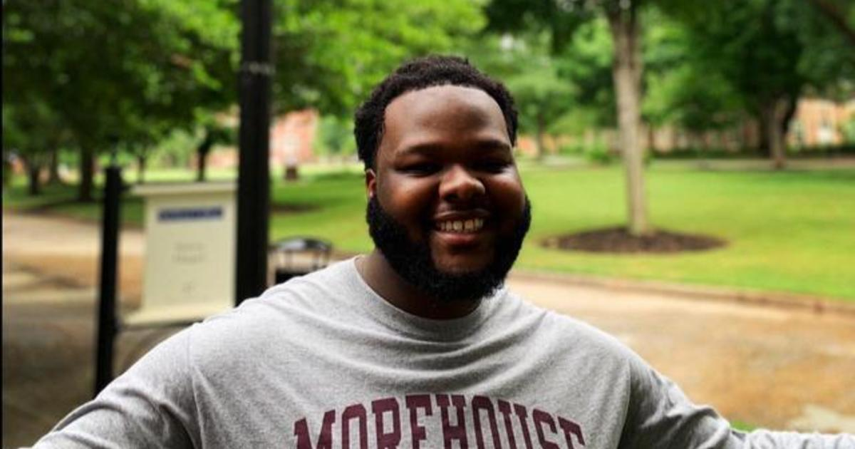 """Morehouse Graduate Motivated To """"change The World"""" After"""