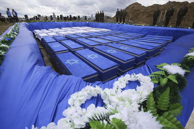Belarus Holocaust Burial