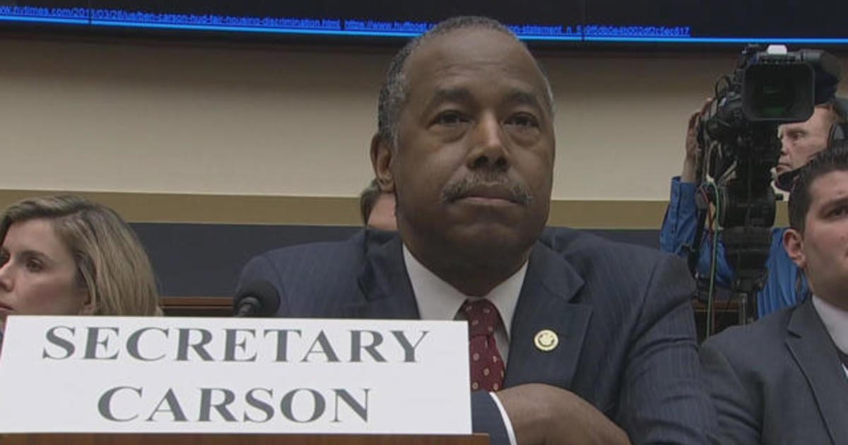 "HUD Secretary Ben Carson confuses real estate term REO for ""Oreos"""