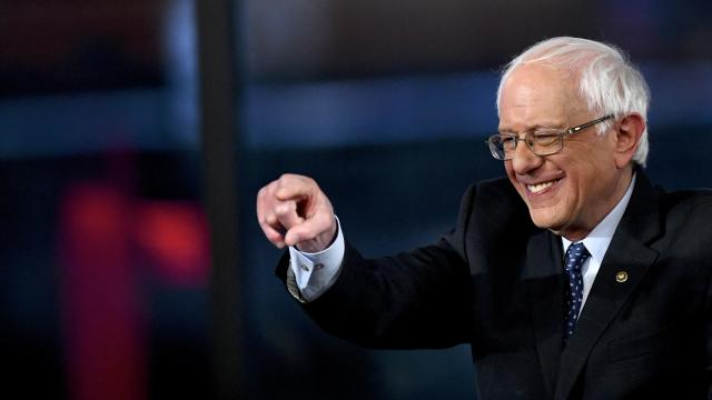 Sen. Bernie Sanders Participates In A Fox News Town Hall In Pennsylvania