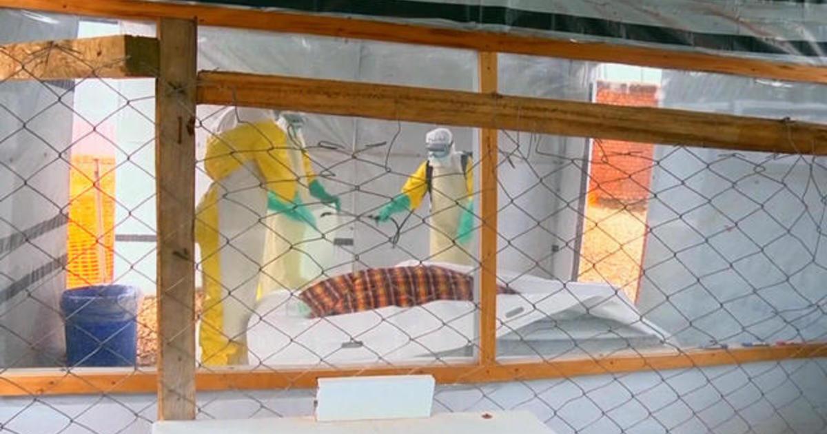 Doctors fighting Ebola outbreak in Democratic Republic of Congo