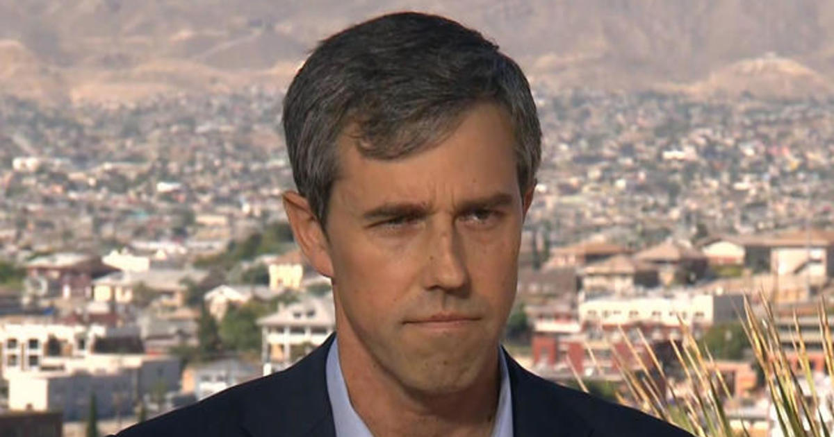 "Beto O'Rourke says migrant families ""pose no threat or danger"" to U.S."