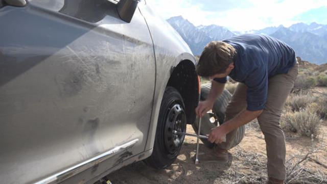 Van life: Making one's home on the open road - CBS News