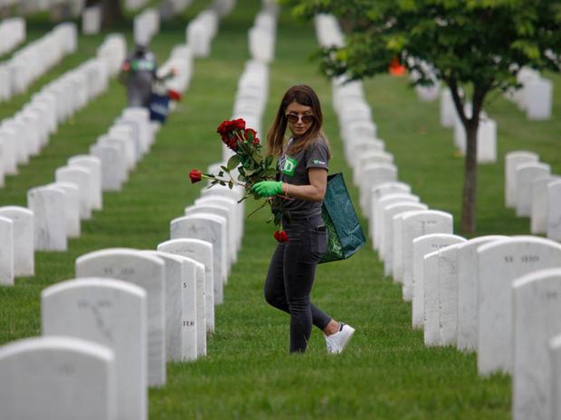Arlington, Va  - Memorial Day 2019: America honors the