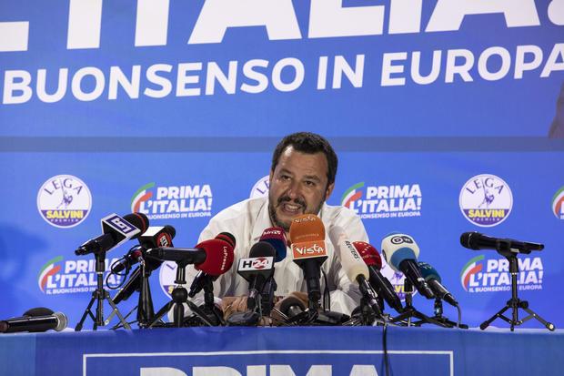 Salvini & # 39; s Lega Party holds EU electoral ballot