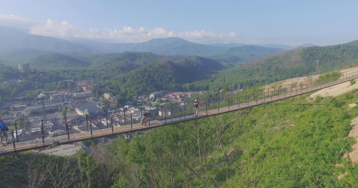 New bridge offers stunning views of Smoky Mountains