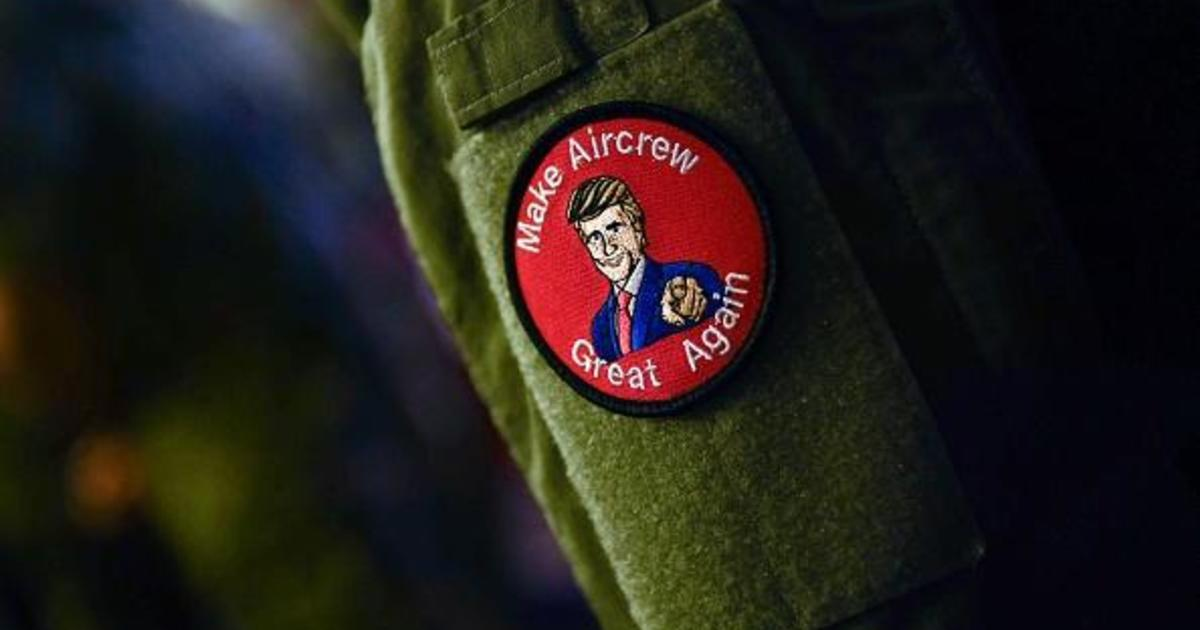 U S  service members seen wearing MAGA-inspired patches at