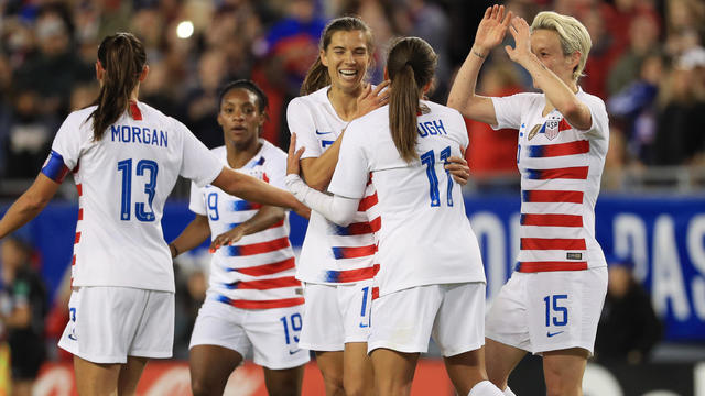 2019 SheBelieves Cup - United States v Brazil