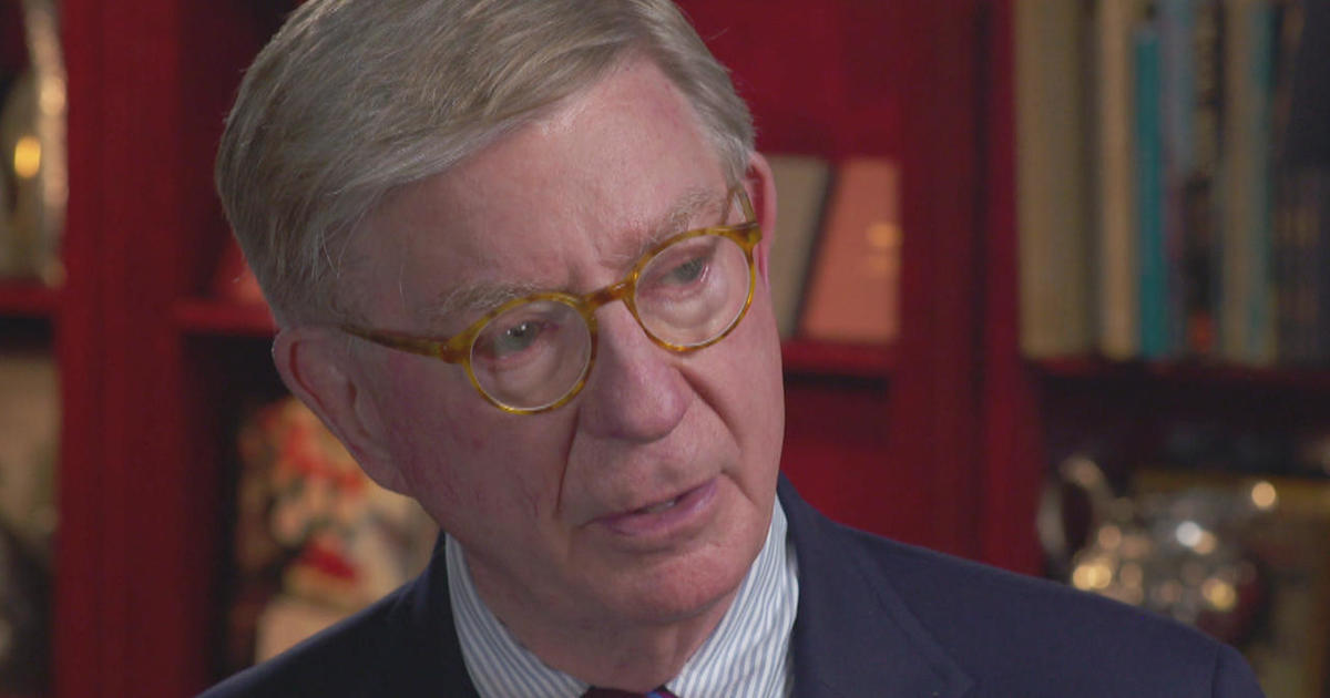 George Will, a conservative rock, unmoved by chaos - CBS News