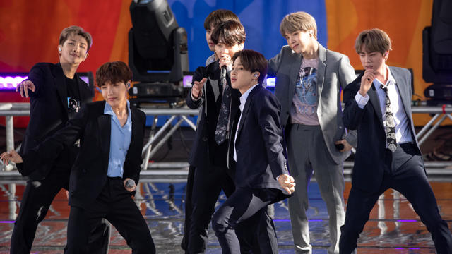 "BTS Performs On ""Good Morning America"""
