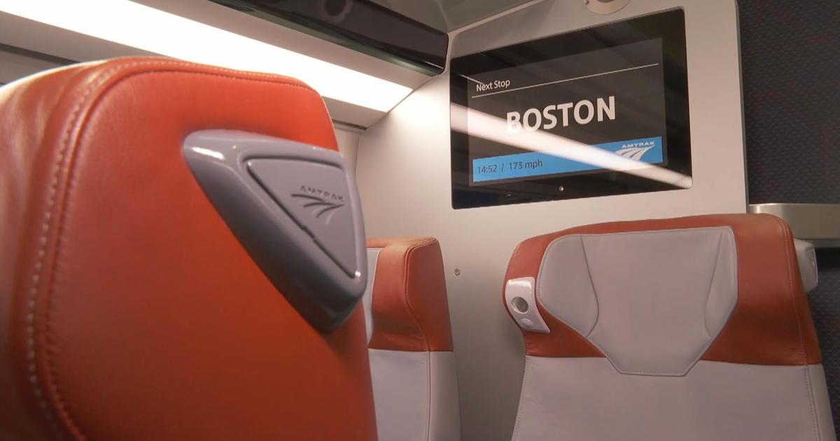 Inside Amtrak's next-generation Acela train: