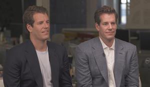 Bitcoin billionaires Tyler and Cameron Winklevoss