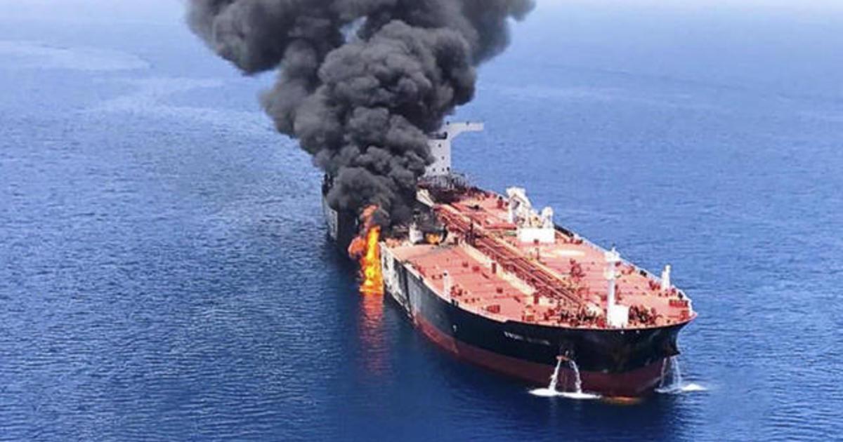 Pompeo Blames Iran For Tanker Attacks In Gulf Of Oman