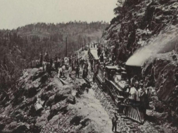 Building the Transcontinental Railroad, the moonshot of the