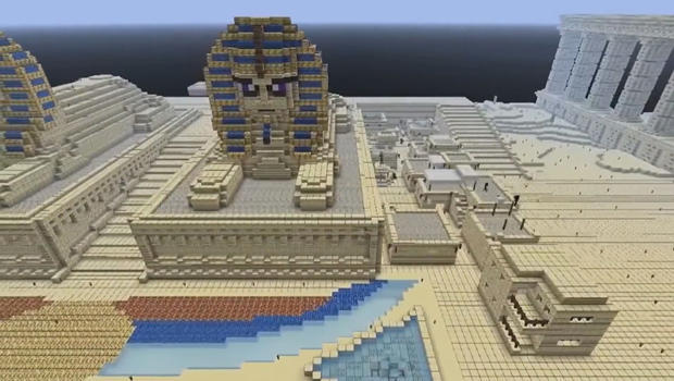 Mining lessons from the blockbuster game Minecraft - CBS News