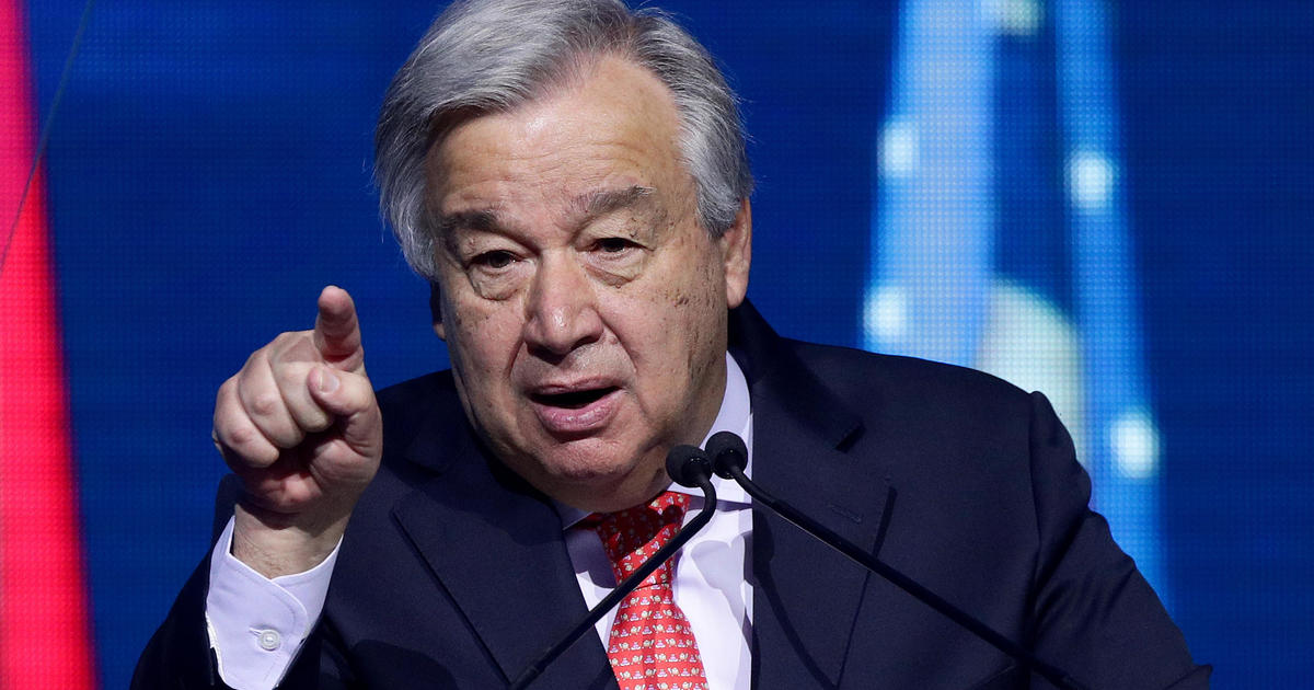 "U.N. chief says coronavirus causing ""generational catastrophe"" in education"