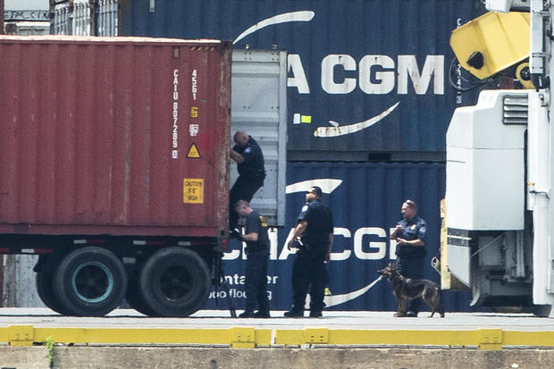 massive cocaine drug bust Philadelphia Port