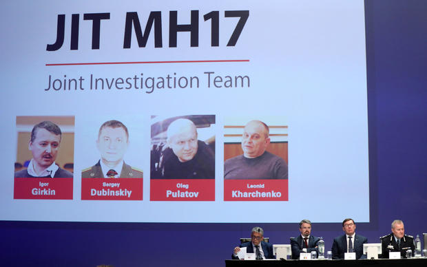 Investigators present latest findings in MH17 downing, in Nieuwegein