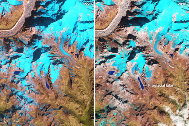 Himalayan Glacier Melting at Double Speed Since 2000, Spy Satellites Show