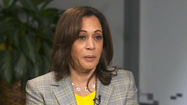 Kamala Harris Ed O'Keefe interview