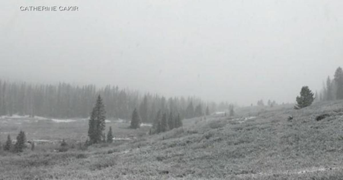 Summer weather off to slow start as snow targets the West