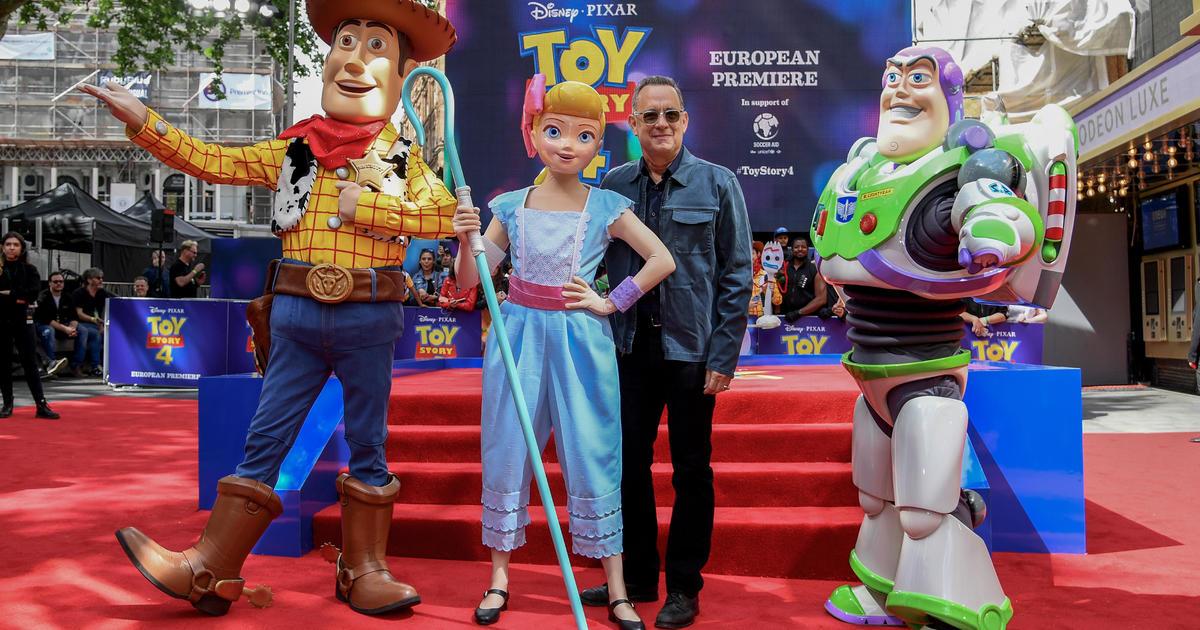 "Toy Story 4"" Disney Pixar movie box office results: $118 million"