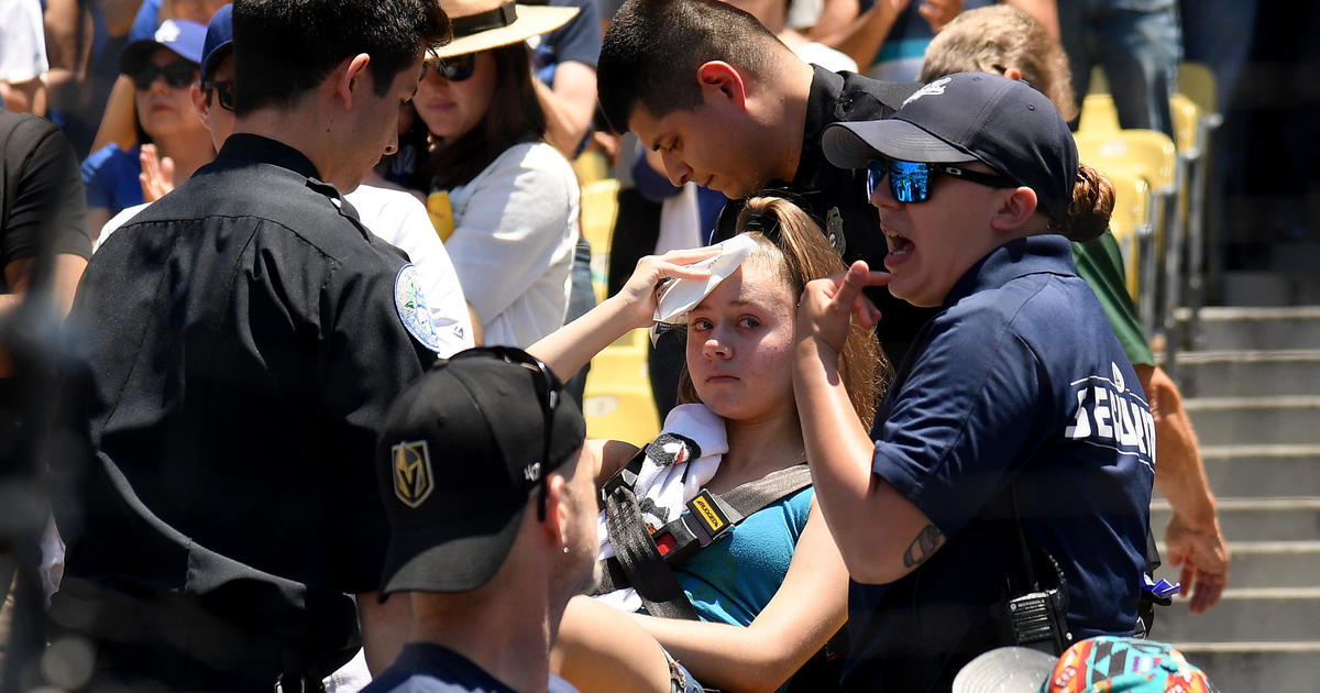 Dodgers Stadium foul ball hits woman: Los Angeles Dodgers to extend netting after fan hit by foul ball