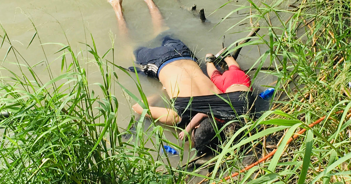 Rio Grande deaths: Tragic photo shows migrant father, toddler who died trying to cross
