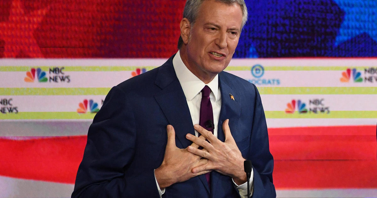 New York City Mayor Bill de Blasio ends 2020 presidential bid