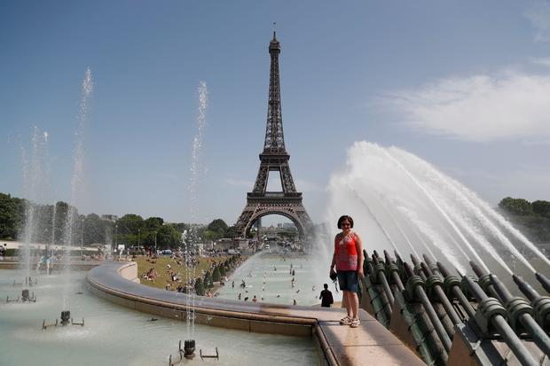 FRANCE-WEATHER-CLIMATE-HEAT-TEMPERATURE-RECORD