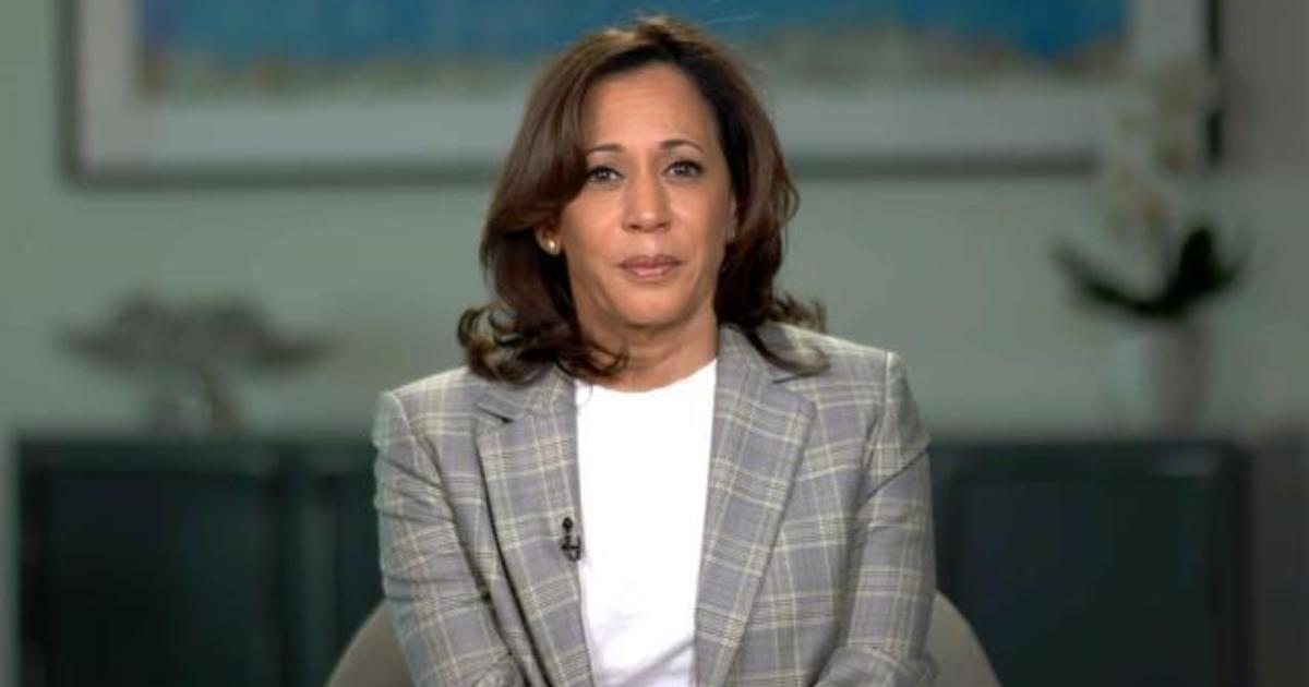 Kamala Harris 2020 Kamala Harris On Claims Of Low Blow Shot At Biden S Record It Was About Just Speaking Truth Cbs News