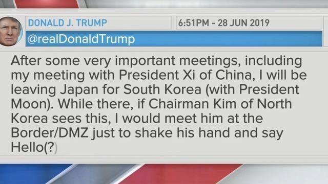 Trump on China trade, Kamala Harris and Khashoggi - CBS News