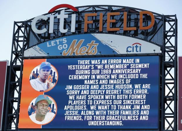 Mets-1969 Apology Baseball