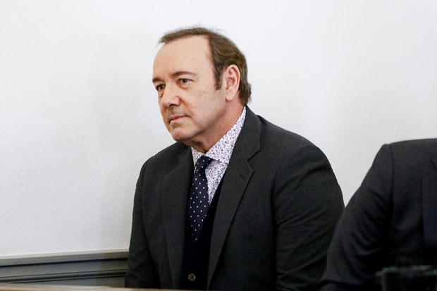 Spacey accuser denies deleting texts about alleged groping